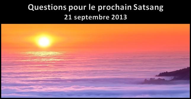 Satsang - Questions - 21-09-2013