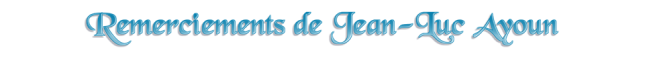 Remerciements - Jean-Luc Ayoun - 02