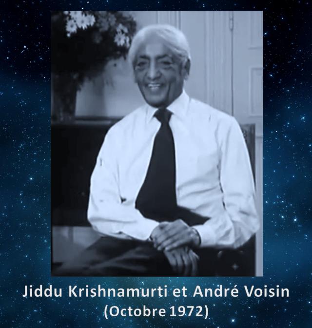 Krishnamurti - André Voisin - 1972