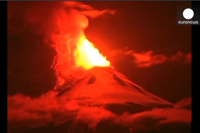 Chili - Volcan Villarrica - 03-03-2015