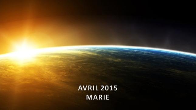 MARIE - Avril 2015