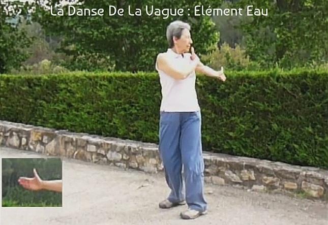 La Danse De La Vague : Elément Eau