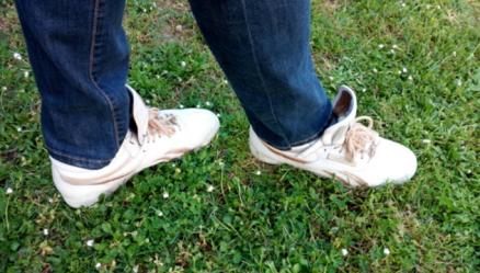 Shakti - Position des pieds