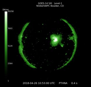 GOES 14 SOLAR X-RAY IMAGER (SXI)