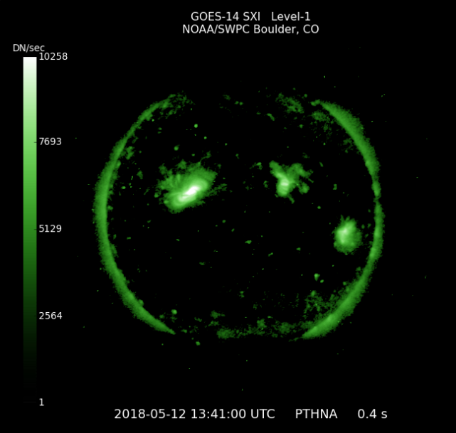 GOES 14 SOLAR X-RAY IMAGER (SXI)